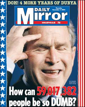 Daily Mirror - Bush
